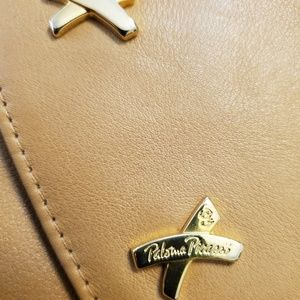 Paloma Picasso leather purse